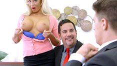 Breasts erect