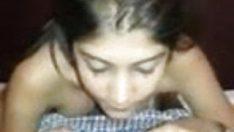 Petite indian girl riding dick